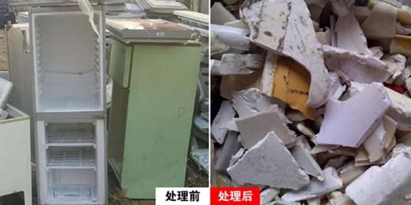 冰箱破碎机有什么用?冰箱破碎机运行原理分享