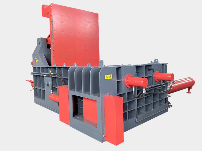 金属压块打包机(门盖式)