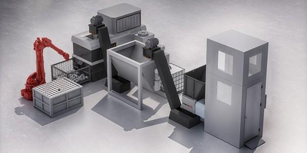 铝屑堆积难处理?看恩派特铝屑压块系统的七十二变