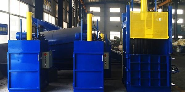 恩派特立式液压打包机液压原理及结构分享
