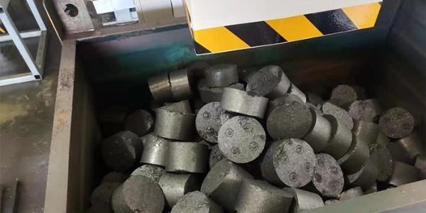 铝屑压块机怎么用?恩派特铝屑压块机工作原理分享