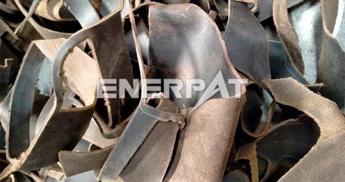 鞋厂边角料破碎处理线
