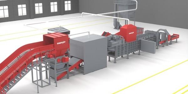 纸厂垃圾破碎处理线纸厂垃圾分类 促进资源再生利用
