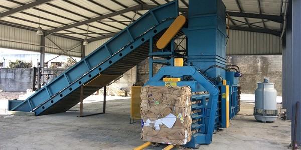 全自动废纸打包机卡机了怎么办?废纸打包机卡机解决方法