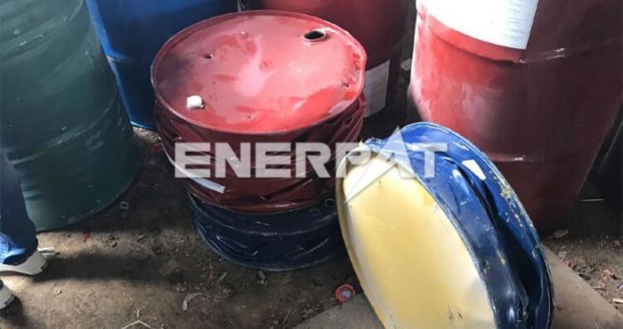 油桶压扁机