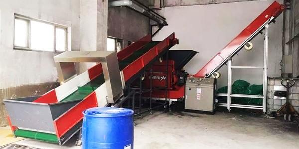 废油桶怎么处理?油桶破碎机处理流程分享