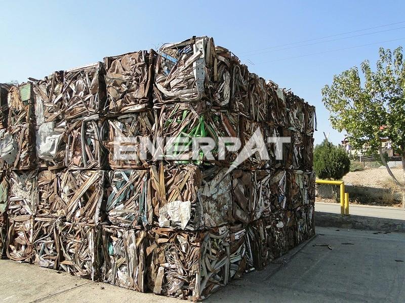 恩派特废金属打包机
